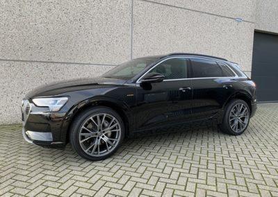 Audi E-tron Voorruit en Voorportierruiten FG70 vanaf Bstijl Privacy Glass